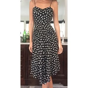 XS Reformation black and white sundress w pockets!